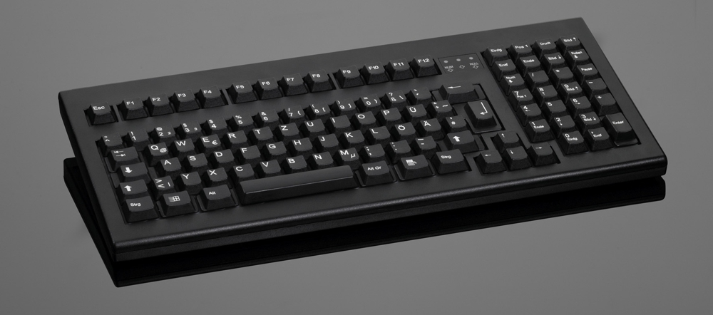 Simple design mated with functionality make this keyboard to a kit of the top class. Windows and menu key integrated